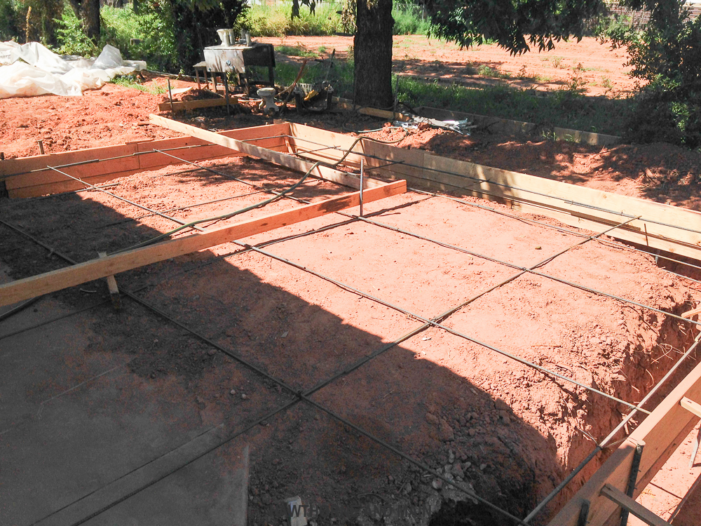 THE SUITE PECAN Pouring the Concrete Slab – HAWTHORNE AND