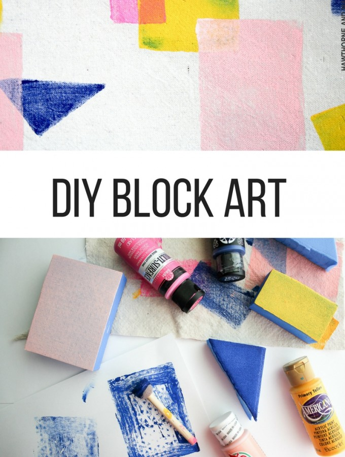 Color Block Art