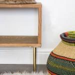 ferrous mid centruy modern bench_