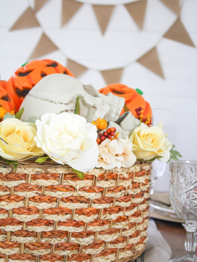 Festive Halloween Tablescape