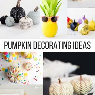 Pumpkin Decoating Ideas