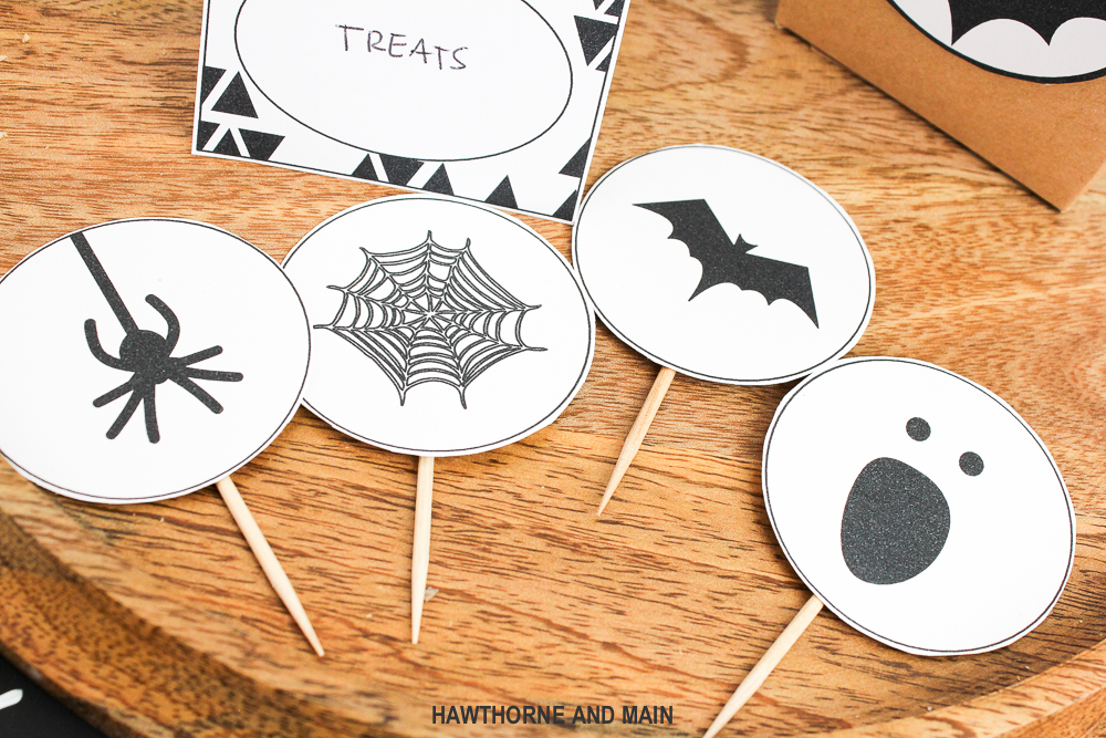 image regarding Halloween Decorations Printable identified as Halloween Occasion Printable HAWTHORNE AND Key