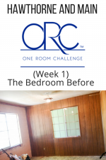 One Room Challenge Guest Bedroom Makeover (Week 1)