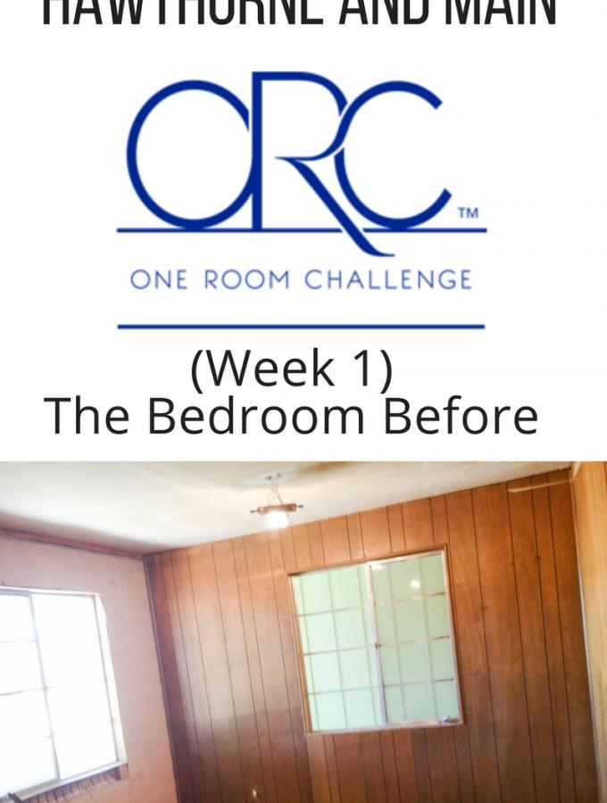 One Room Challenge Guest Bedroom Makeover (Week 1)
