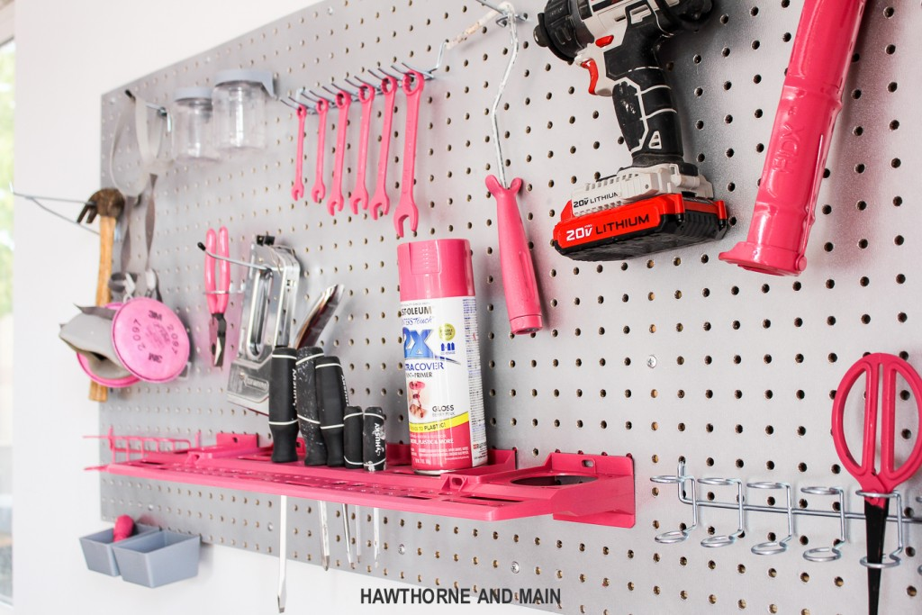 pink-tools-on-a-peg-board