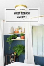 Guest Bedroom Makeover (Week 6)