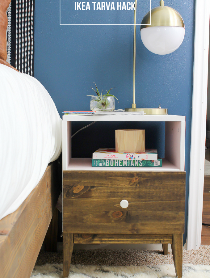 IKEA Tarva Nightstand Hack- IKEA Did it Again!