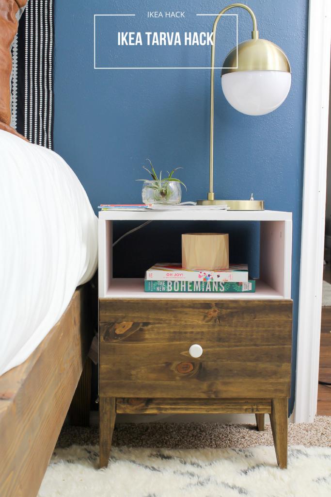 guest-bedroom-ikea-tarva-nightstand