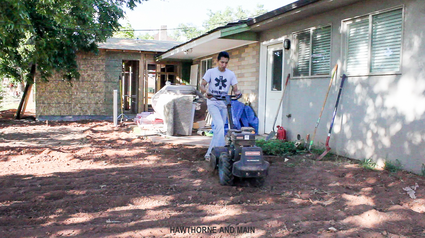 tilling-ground-before-laying-sod