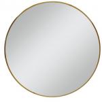 """28"""" Brass Mirror"""