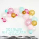 GIVEAWAY! $750 Amazon Gift Card