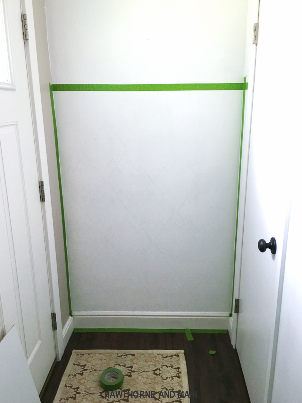 frog-tape-on-a-half-painted-wall