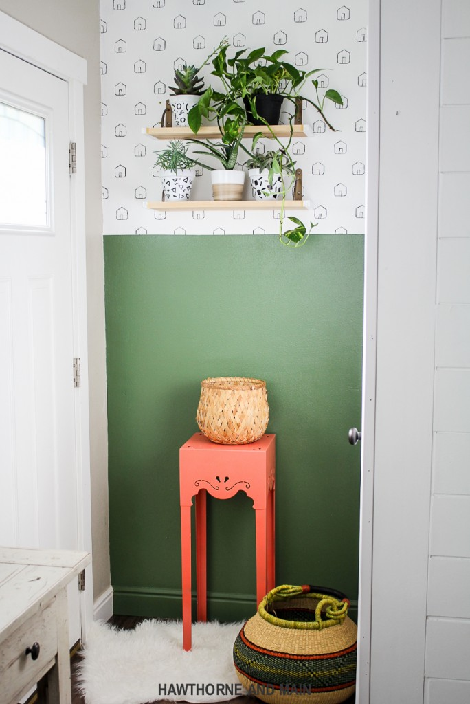 half-green-accent-wall-entryway