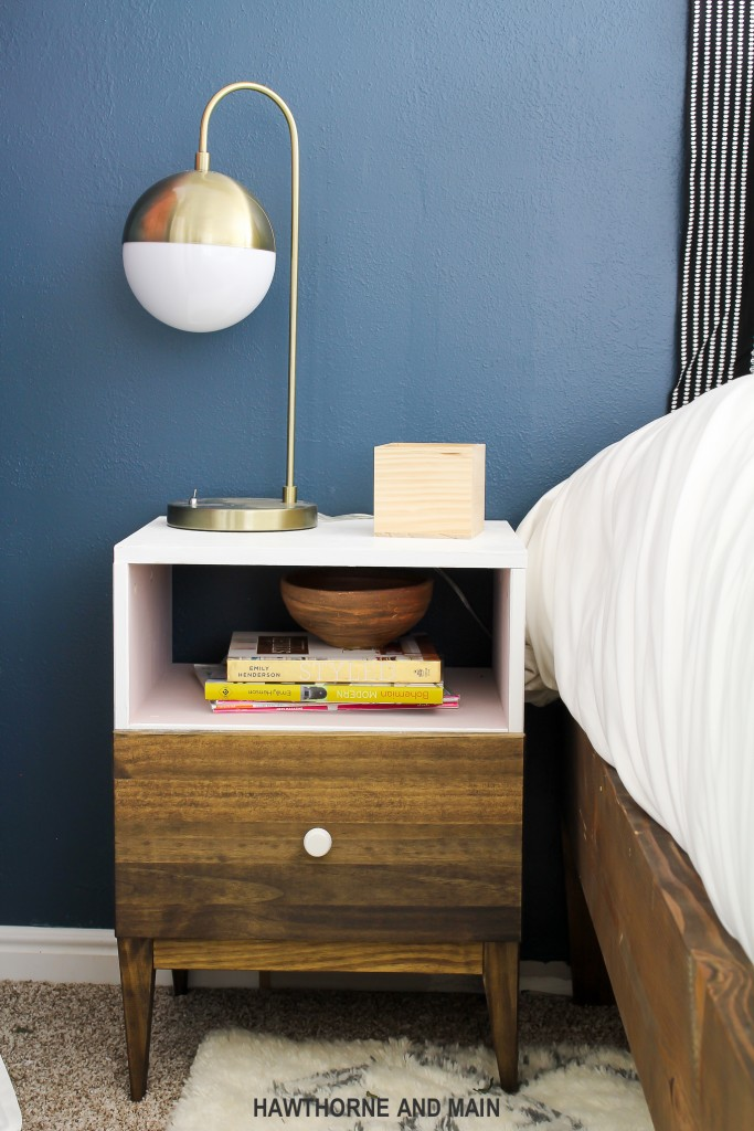 Ikea tarva nightstand hack hawthorne and main for Ikea tarva hack de lit