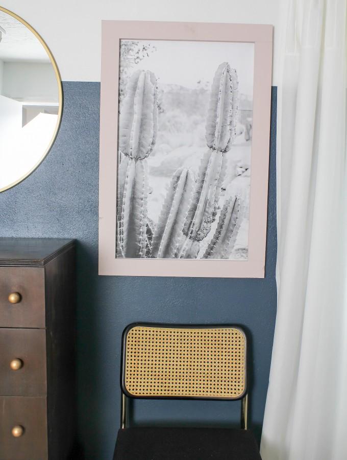 DIY Cactus Art- For CHEAP!