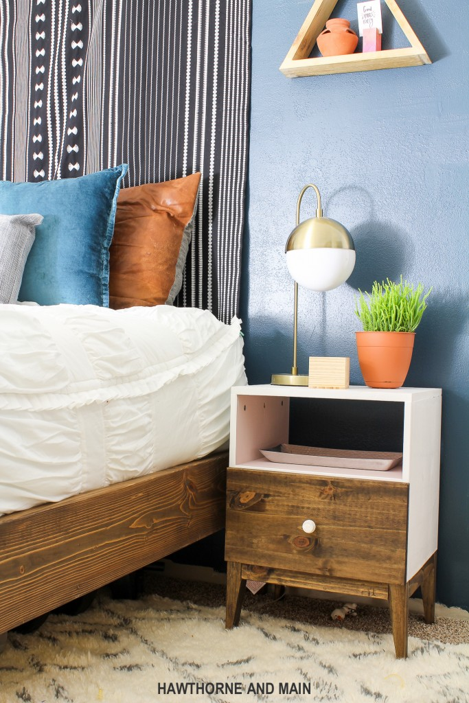 how to build a mid century bed