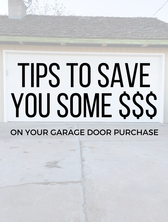 Tips for Choosing a Garage Door and How to Save Money!