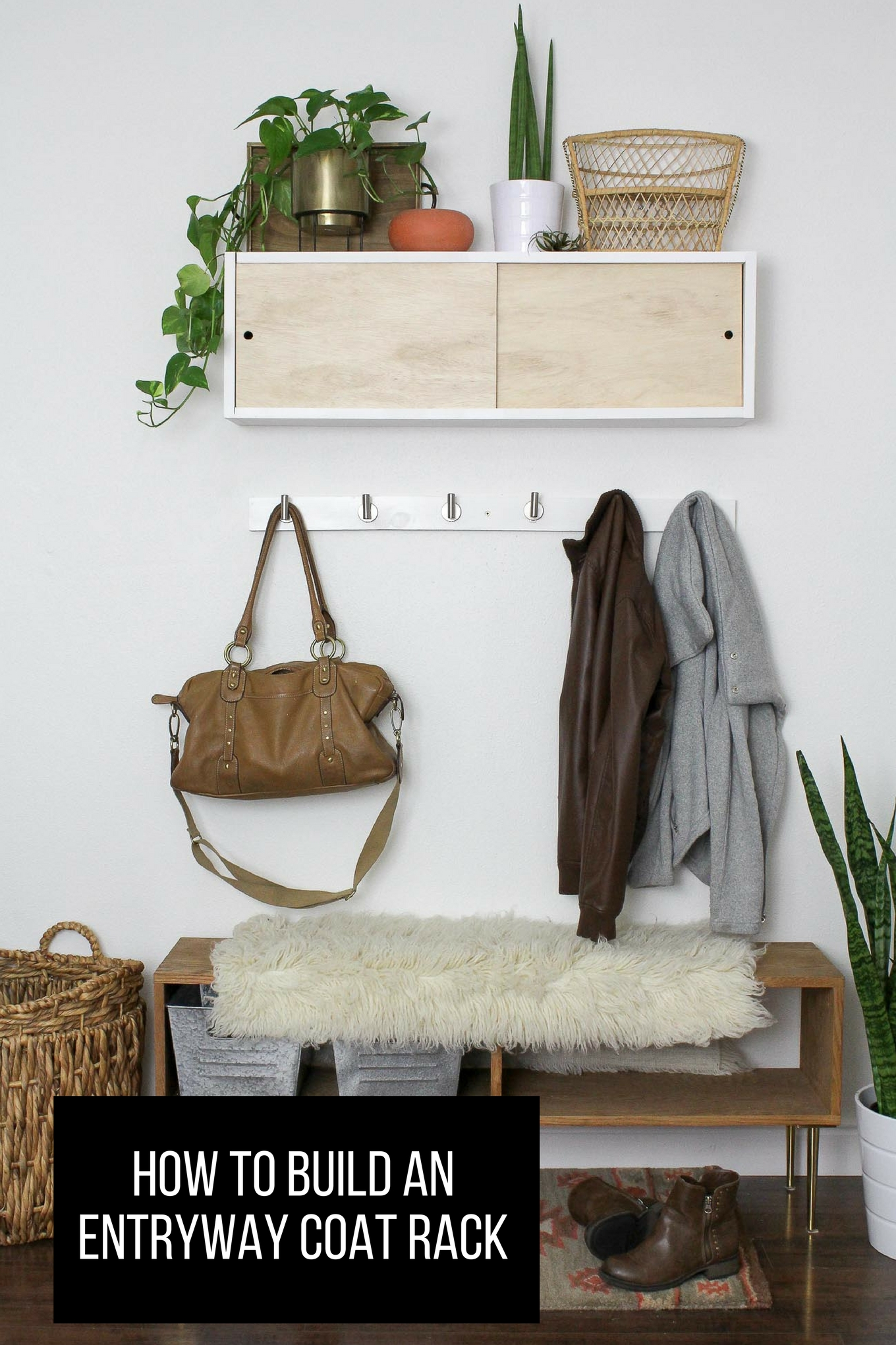 Closet Coat Rack Entryway
