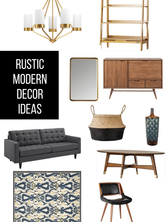 Rustic Modern Decor Ideas
