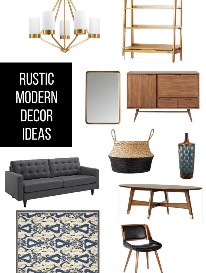 Rustic Modern Decor Ideas