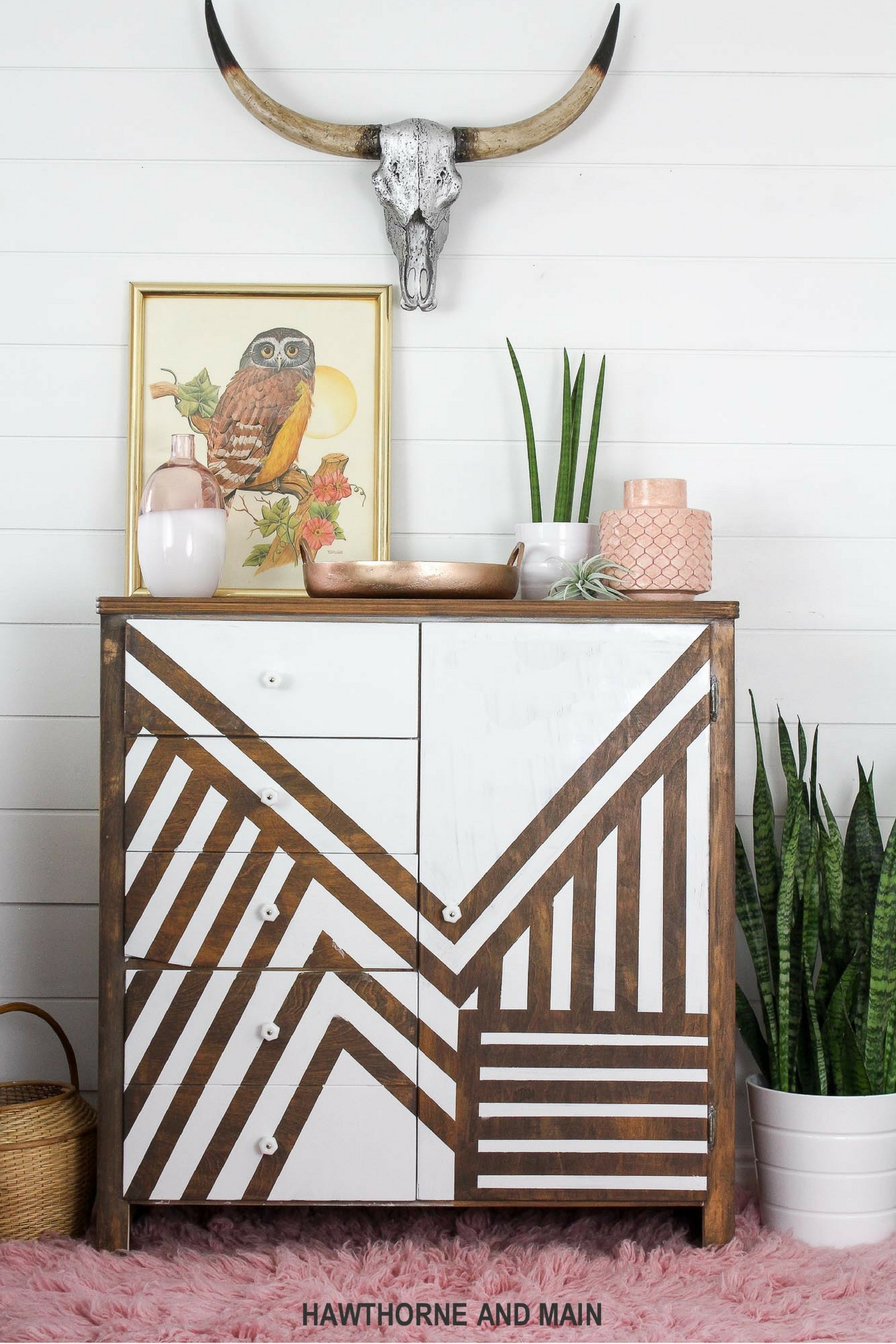 store dresser thrift gets a with makeover french twist