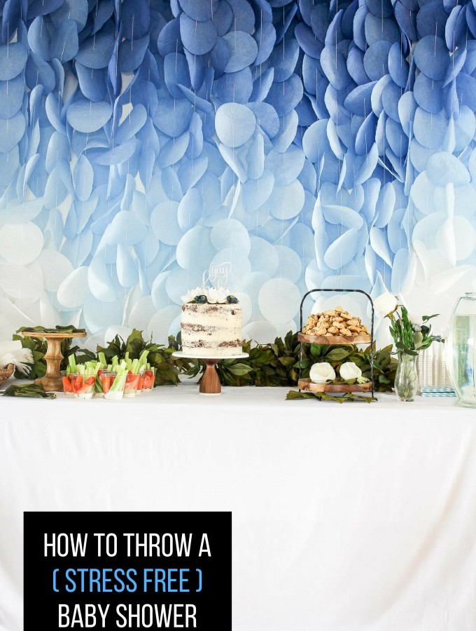 tips to throwing the perfect baby shower