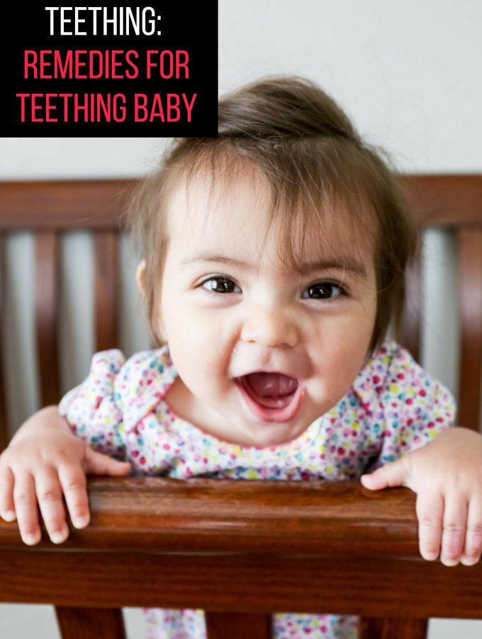 How to Deal with A Teething Baby