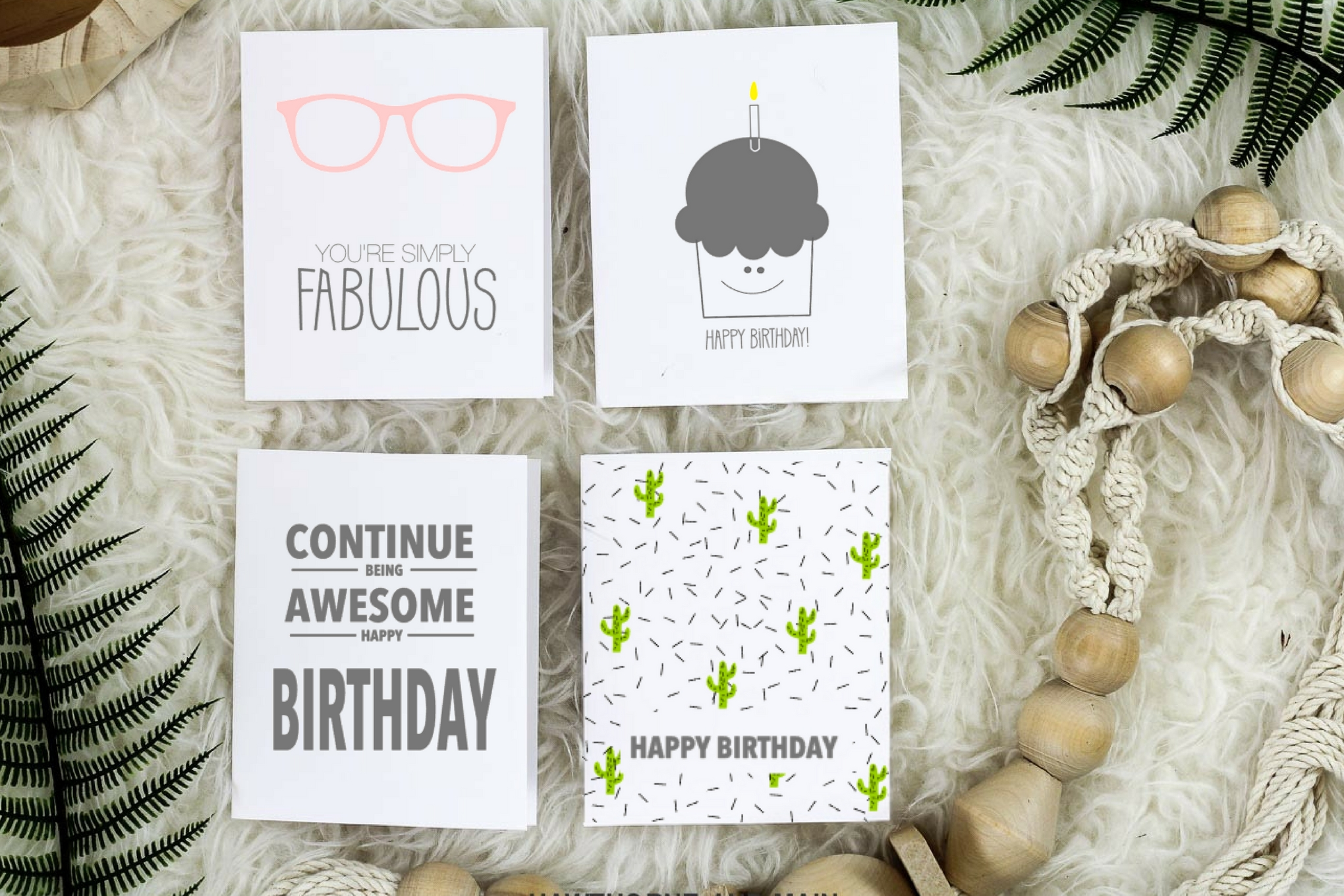 Free birthday greeting cards..come and print your copy now! Love these for friends and family.