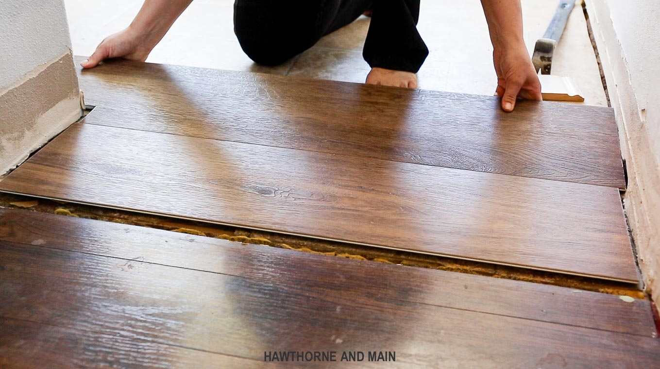 Everything you need to know about lvt flooring hawthorne for Laying flooring