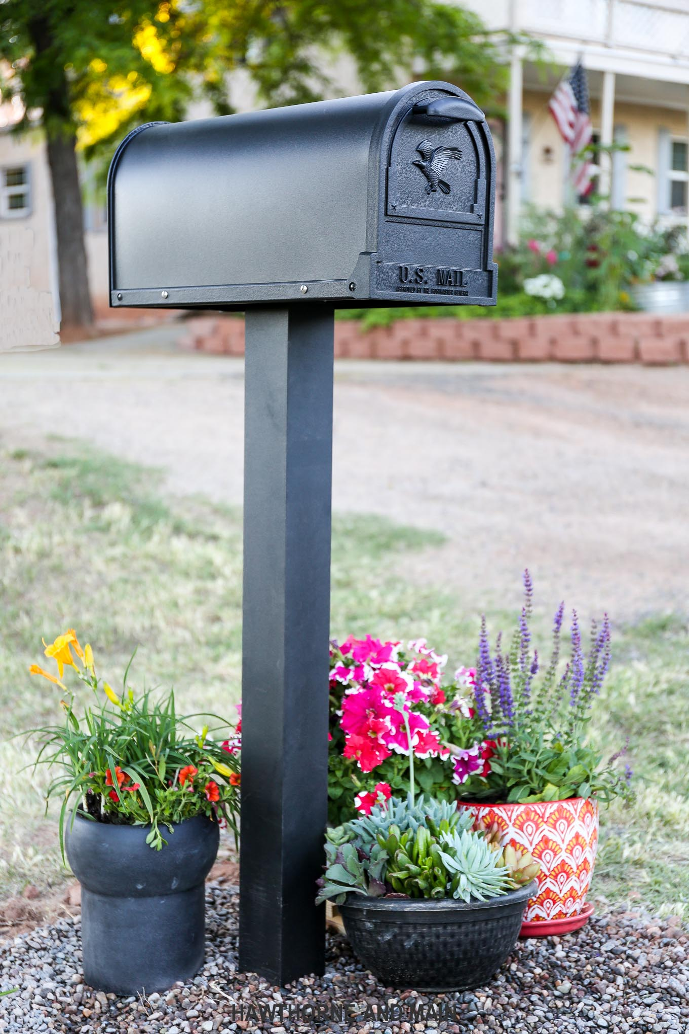 If Walls Could Talk and a New Mailbox- Mail's first impression of your home is the mailbox...make it pretty!