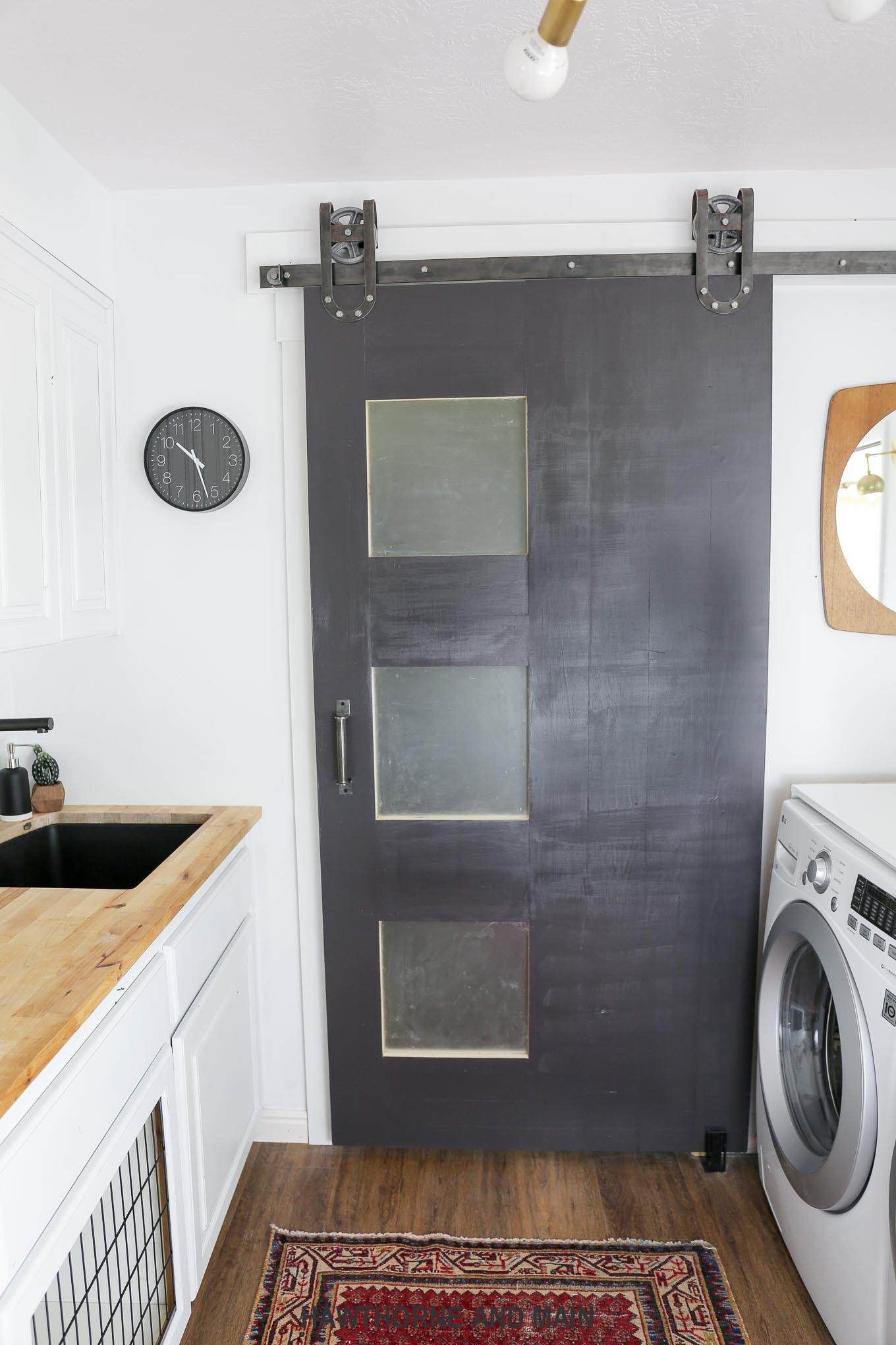 Laundry Room Reveal- One Room Challenge Week 6 – HAWTHORNE AND MAIN