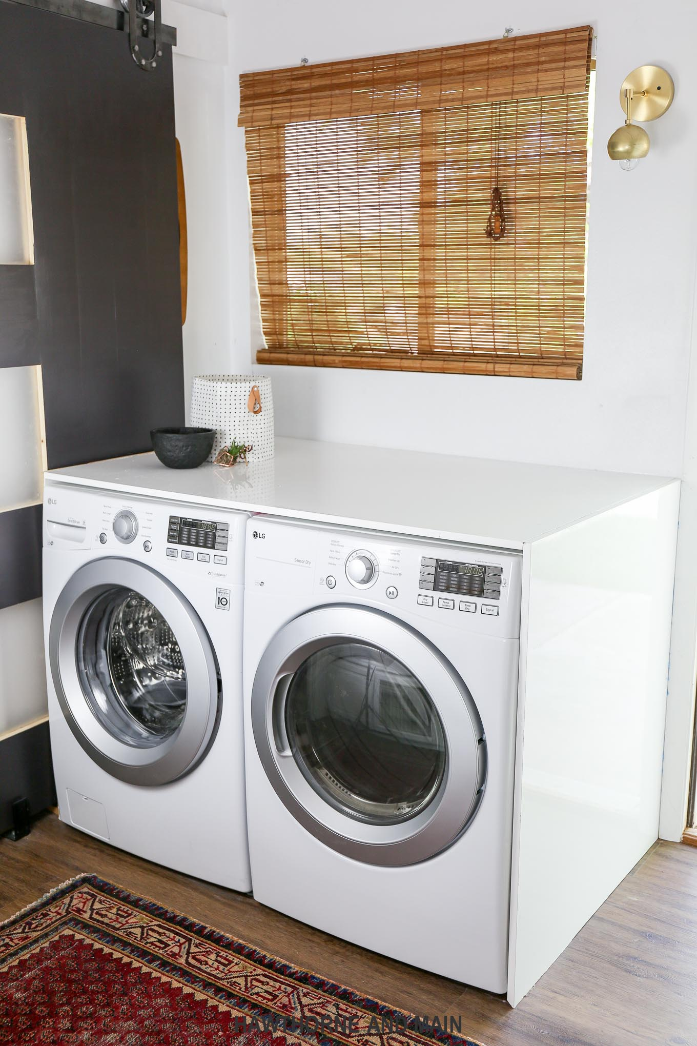 Laundry room makeover- Check out all of the sources